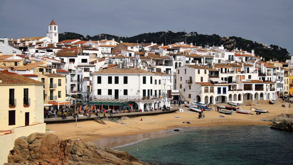 beaches of the Catalan coast