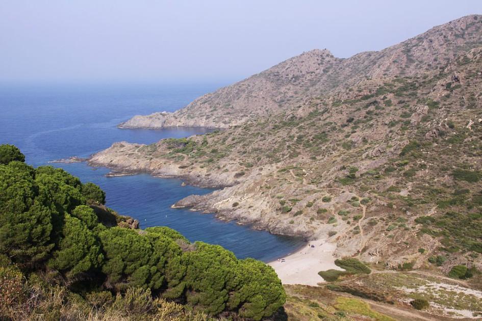 beaches of the Catalan coast cala tamariua