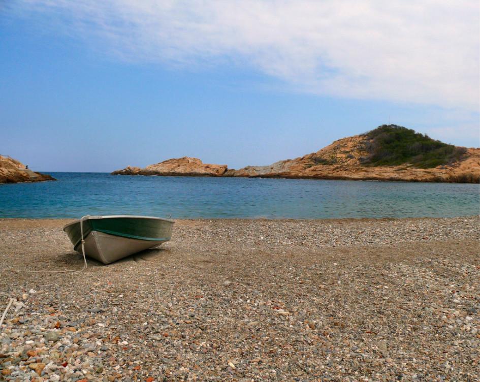 beaches of the Catalan coast sa tuna