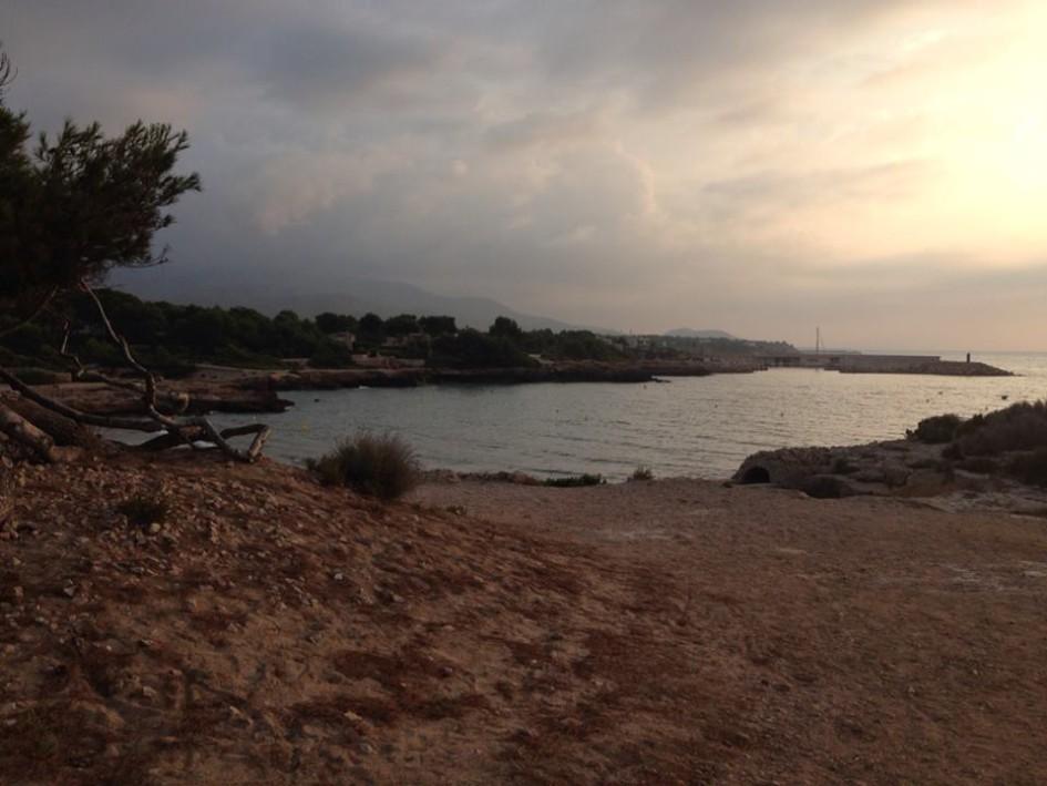 beaches of the Catalan coast sant jordi