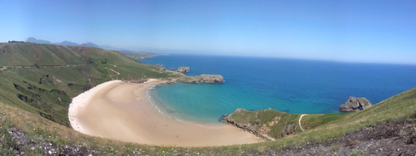 beaches on the Cantabrian Sea
