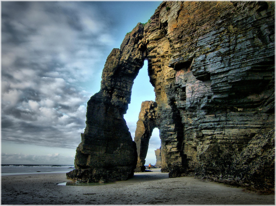 beaches on the Cantabrian Sea catedrales