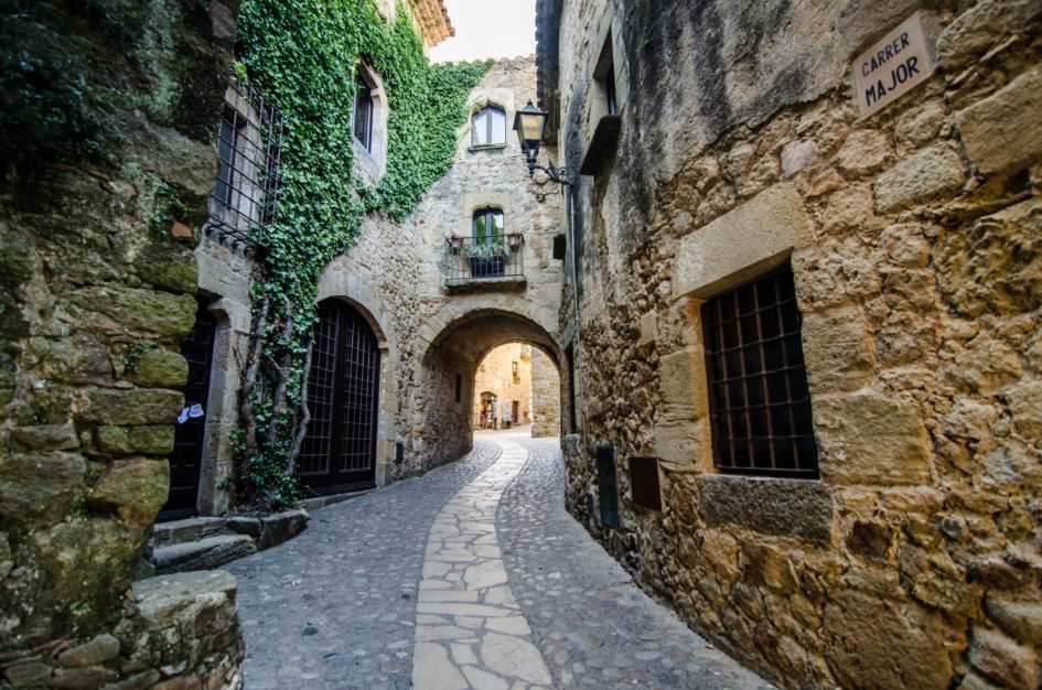 medieval villages of the Emporda