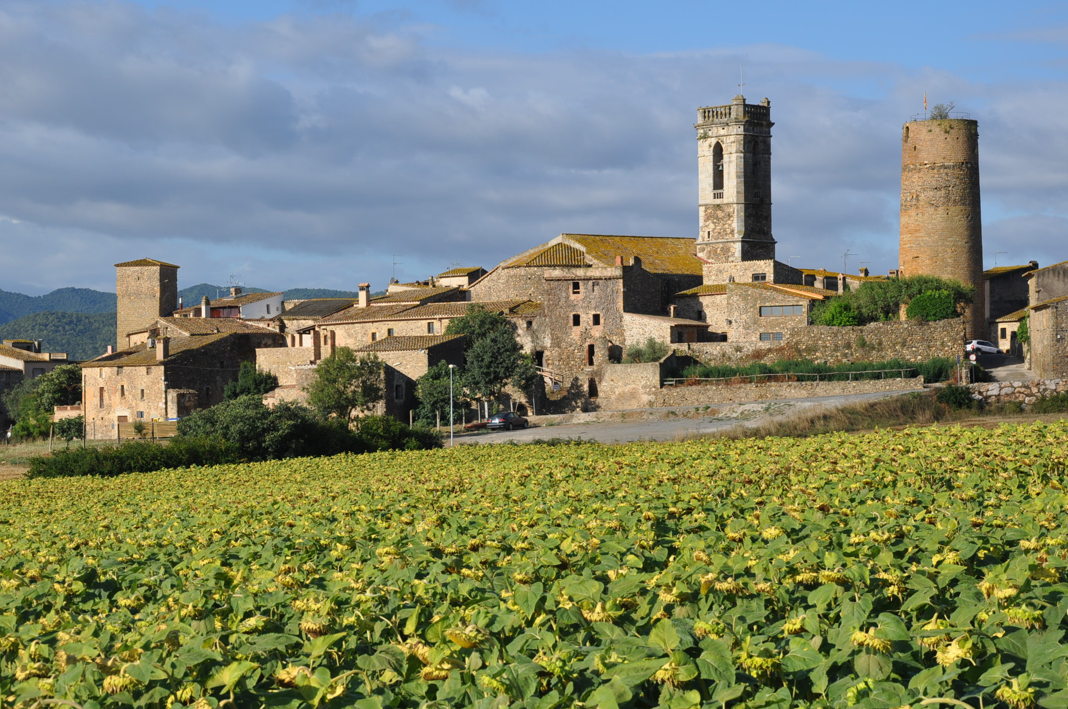 medieval villages of the Emporda cruilles