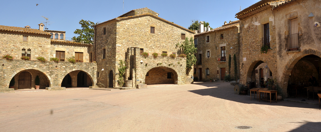 medieval villages of the Emporda monells