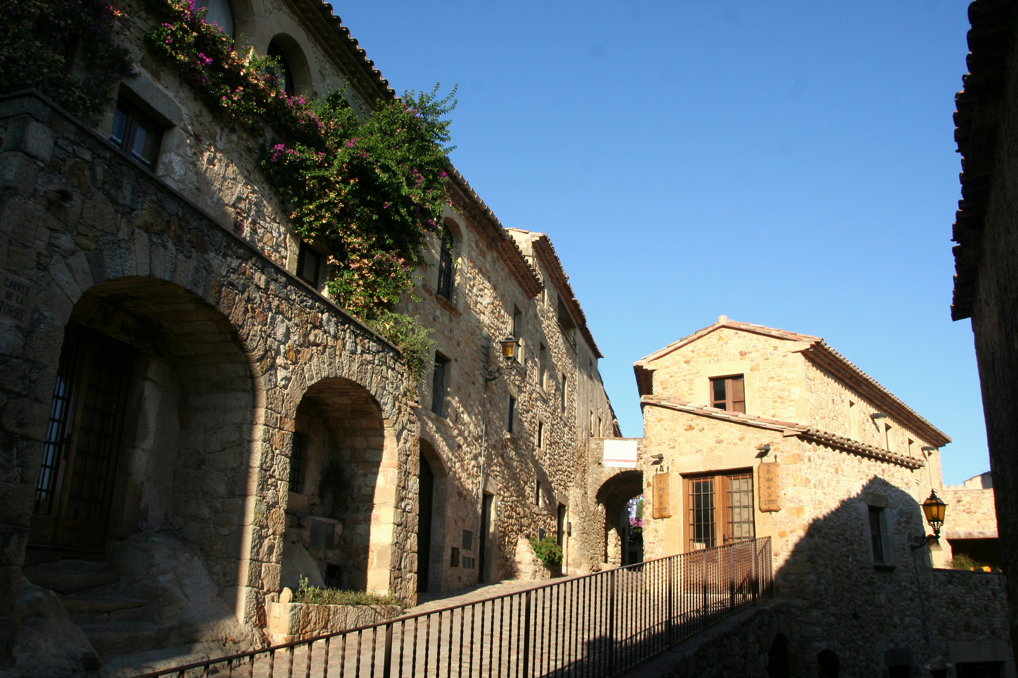 medieval villages of the Emporda pals