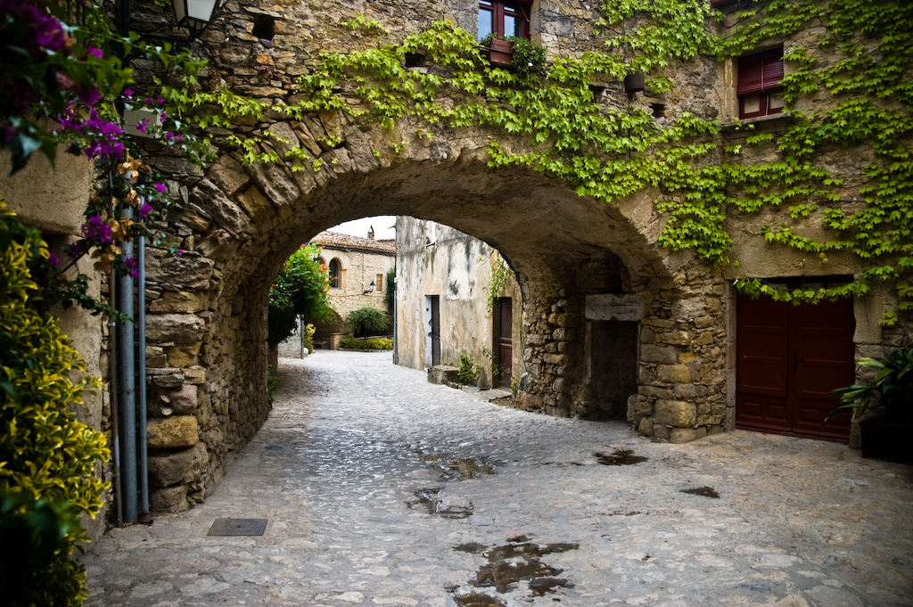 medieval villages of the Emporda peratallada