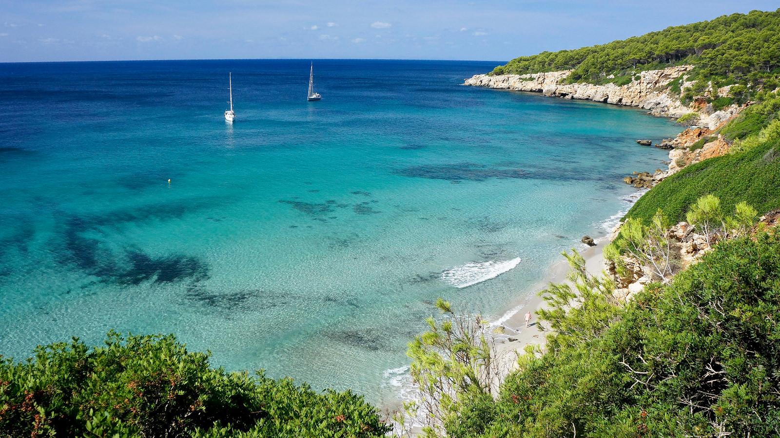 Spain's beaches menorca